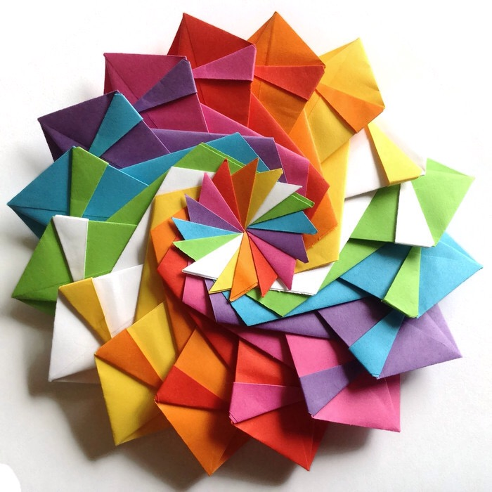 Origami Math Shapes